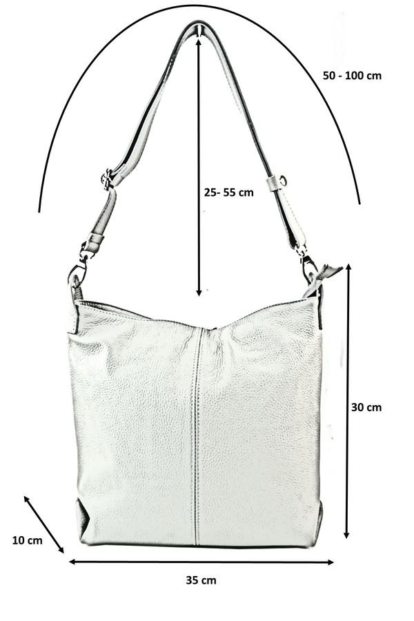 8de0c7a2f6 Tato kožená taška se dá nosit přes rameno na krátko