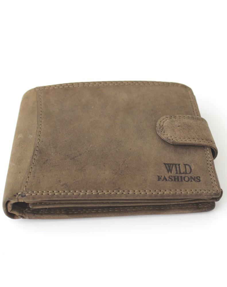 20f32eeed06 Pánská kožená peněženka Wild Fashions H-5700L-green