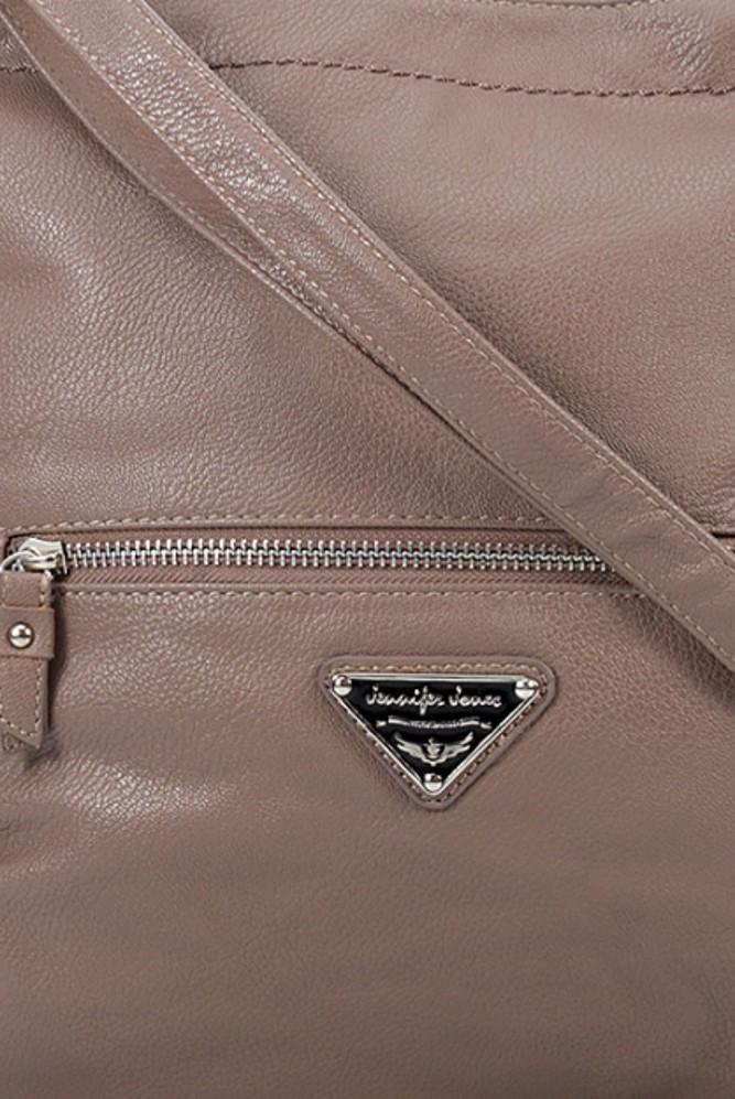 Jennifer Jones kabelka přes rameno hnědá 3950