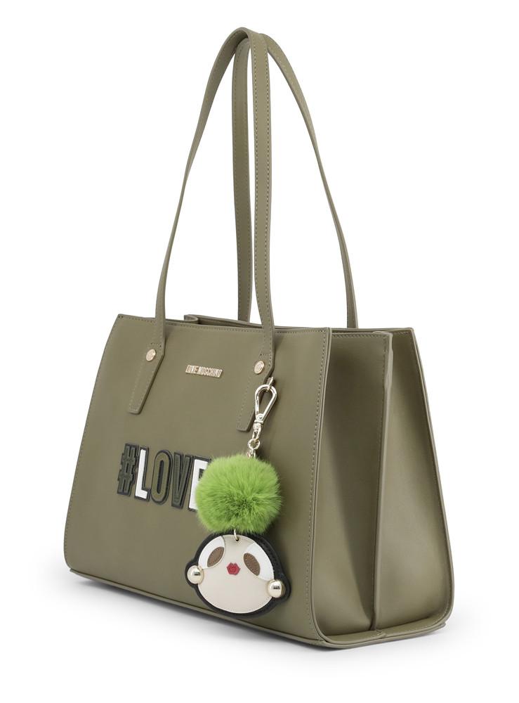 ŽENY · DÁMSKÉ KABELKY · Elegantní kabelky  Kabelka Love Moschino Zelená  JC4070PP16LK. Dotaz na prodavače · Poslat známému 583a3353149