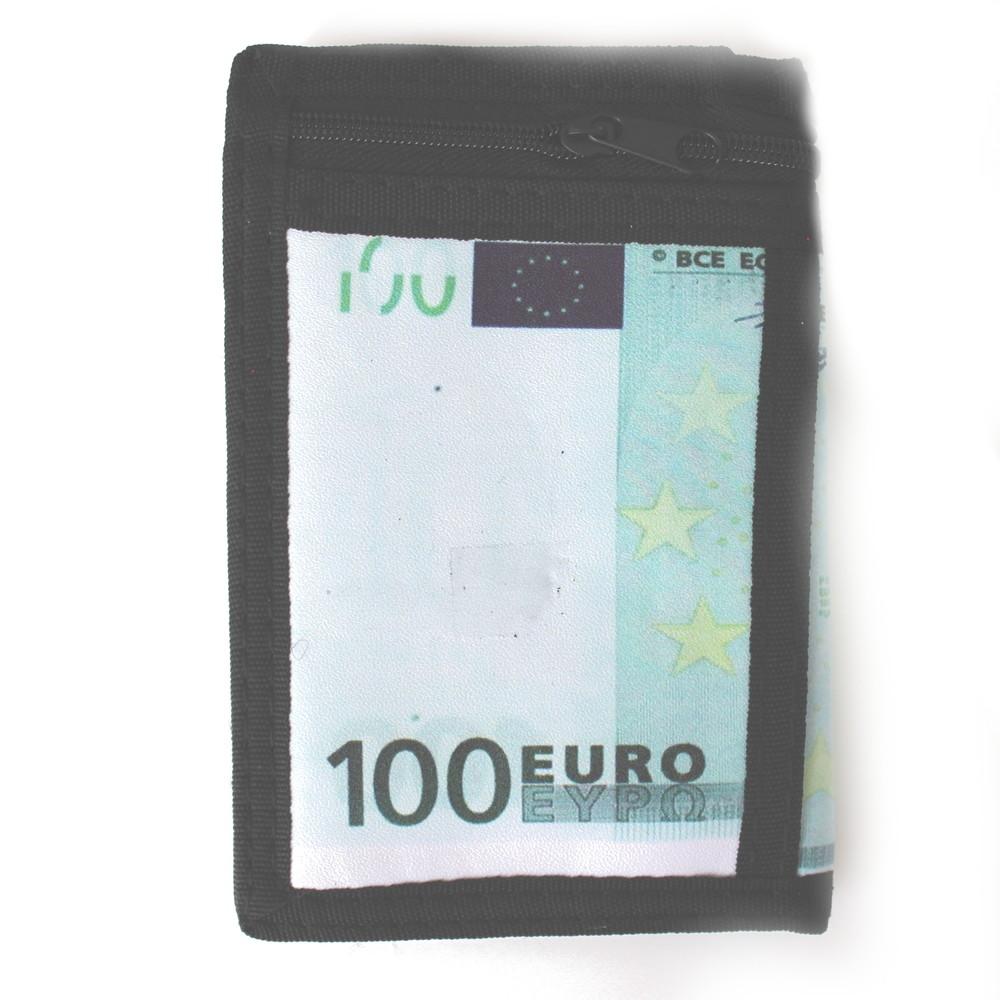 3f5941822d8 Látková peněženka černá s potiskem a řetízkem - Sportovní peněženky -  Galanto.cz