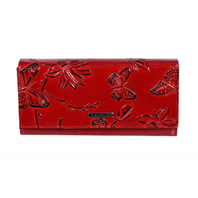 a81cc23d469 Cavaldi Dámská velká červená peněženka PN24-BF - Dámská peněženka Cavaldi -  Galanto.cz