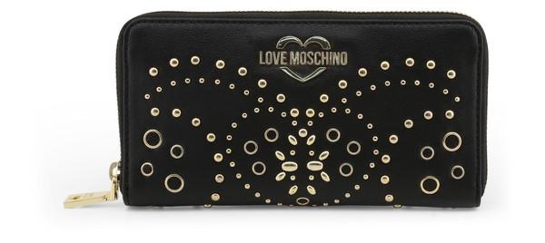 Dámská Peněženka Na Zip Love Moschino Černá JC5606PP17LR