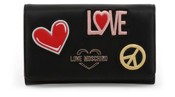 Dámská Peněženka Love Moschino Černá JC5605PP17LJ