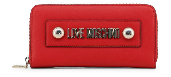 Dámská Peněženka Na Zip Love Moschino Červená JC5649PP07KF