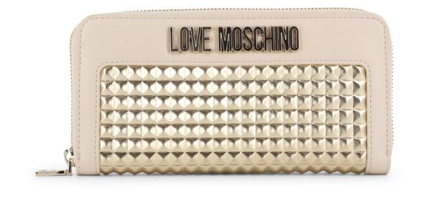 Dámská Peněženka Na Zip Love Moschino Bílá JC5643PP07KD