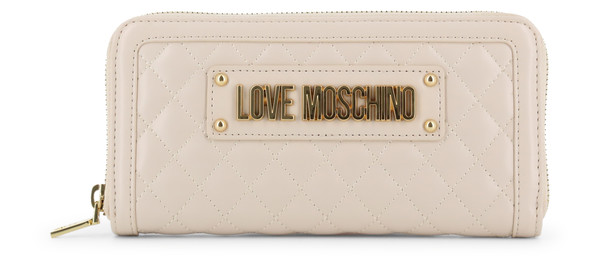 Dámská Peněženka Na Zip Love Moschino Bílá JC5640PP07KA