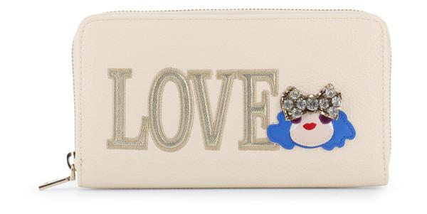 Dámská Peněženka Na Zip Love Moschino Bílá JC5651PP07KH
