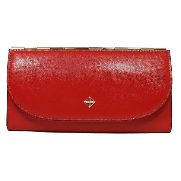 Dámská velká červená peněženka MILANO DESIGN SF1833