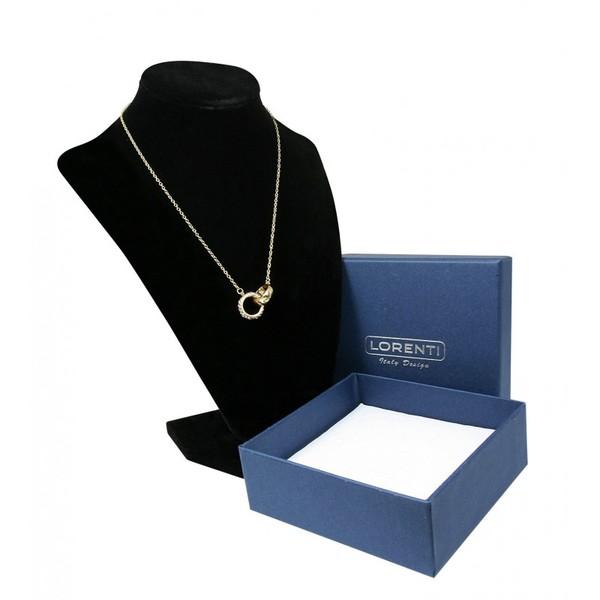Zlatý náhrdelník s přívěskem Lorenti 21