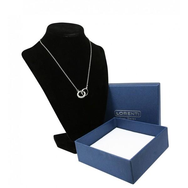 Stříbrný náhrdelník s přívěskem Lorenti 21