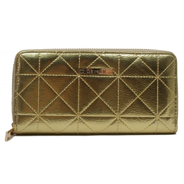 Dámská kožená zlatá peněženka Cavaldi YYXB-03