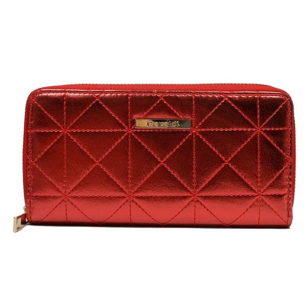 Dámská kožená červená peněženka Cavaldi YYXB-03