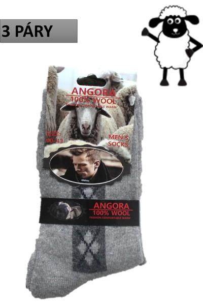 e299195a575 Pánské termo ponožky bussines z ovčí vlny 3 páry - PÁNSKÉ PONOŽKY -  Galanto.cz