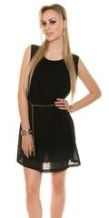 Letní dámské šaty černé