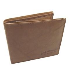 Pánská peněženka kožená Bag Street světle hnědá 167C