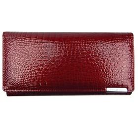 Jennifer Jones kožená dámská velká peněženka červená 5288
