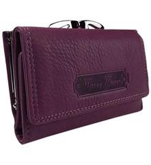 Dámská kožená peněženka Money Maker 5286-bordo