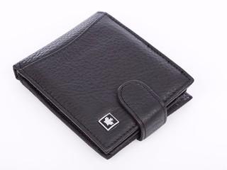 Pánská peněženka kožená Bag Street černá F5251-1