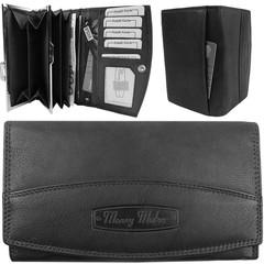 Dámská kožená peněženka Money Maker 12131-schwarz
