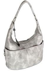 Ejjo Jennifer Jones hobo dámská kabelka přes rameno světle šedá
