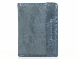 Harold's pánská kožená peněženka modrá 1181