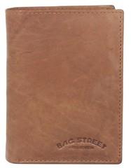 Pánská peněženka kožená Bag Street tan 991C