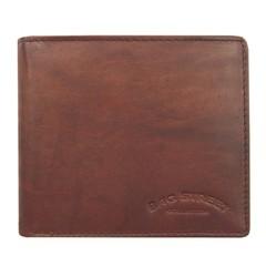Pánská peněženka kožená Bag Street hnědá 167C