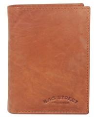 Pánská peněženka kožená Bag Street hnědá 991C