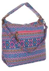 Jerry dámská textilní taška se zipem a potiskem