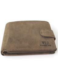 Pánská kožená peněženka Wild Fashions H-5700L-green