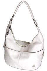 Ejjo Jennifer Jones hobo dámská kabelka přes rameno bílá
