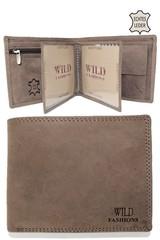 WILD FASHIONS pánská peněženka hnědá H-5700-green