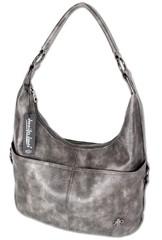 Ejjo Jennifer Jones hobo dámská kabelka přes rameno šedá