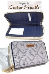 Dámská peněženka Giulia Pieralli M340/02A-bianco blue