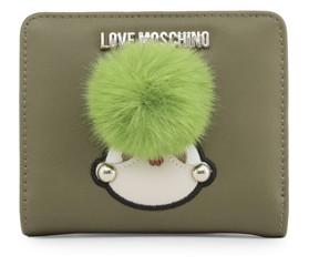 Peněženka Love Moschino Zelená JC5538PP16LK