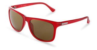 Sluneční brýle Calvin Klein Červené CK3160S
