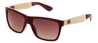 Sluneční brýle Guess Červené GU6832