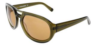 Sluneční brýle Dsquared2 Zelené DQ0258