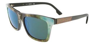 Sluneční brýle Diesel Zelené DL0120_54