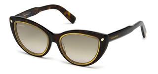 Sluneční brýle Dsquared2 Hnědé DQ0170