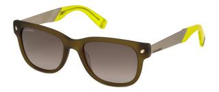 Sluneční brýle Dsquared2 Zelené DQ0219