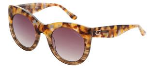 Sluneční brýle Guess Hnědé GU7485