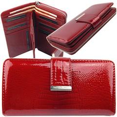 Jennifer Jones červená dámská kožená peněženka 5280