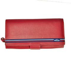 Dámská červená kožená peněženka WILD ALWAYS N567-GV