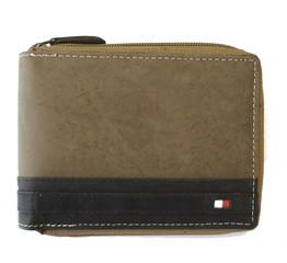 Pánská i dámská hnědá kožená peněženka ALWAYS WILD N992Z-BROWN