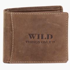 WILD THINGS ONLY peněženka pánská kožená hnědá koňaková 5460