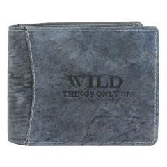 WILD THINGS ONLY peněženka pánská kožená modrá koňaková 5460