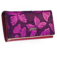 Lorenti Dámská kožená peněženka růžová 76114-NBF PINK