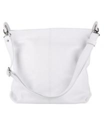Dámská kabelka Catania Made in Italy 3306-4 bíla